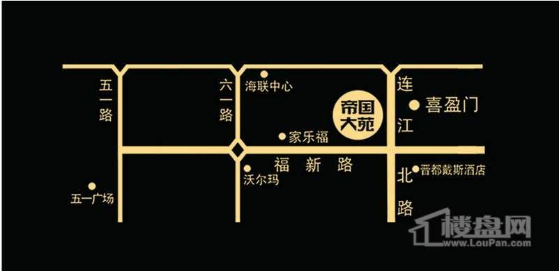 中庚帝国大苑交通图