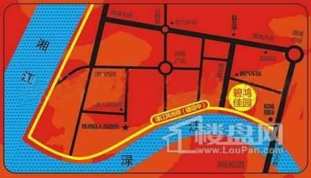 碧鸿佳园交通图