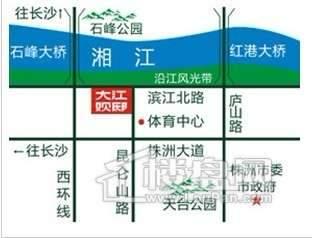 富基滨江公园交通图