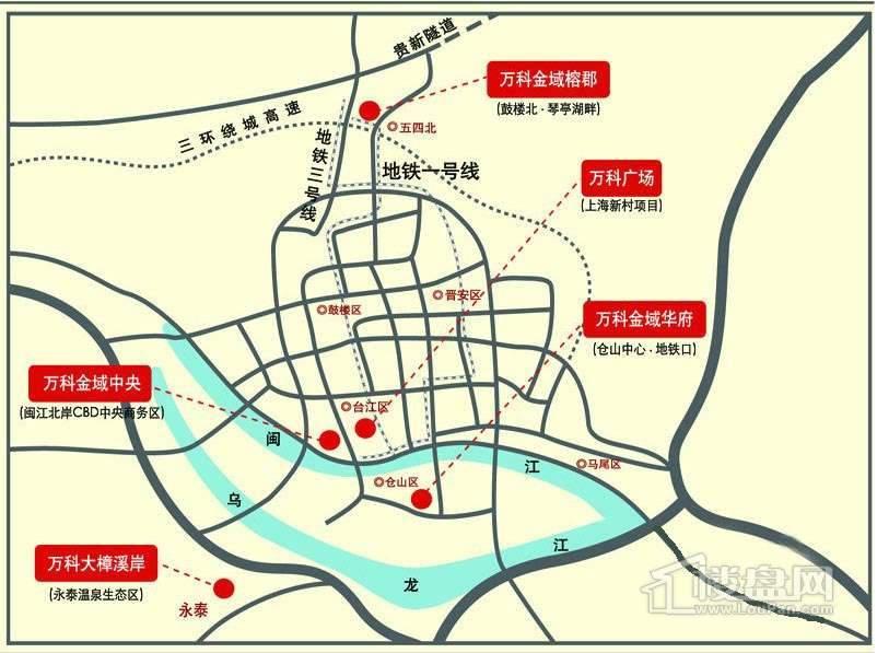 金辉伯爵山交通图