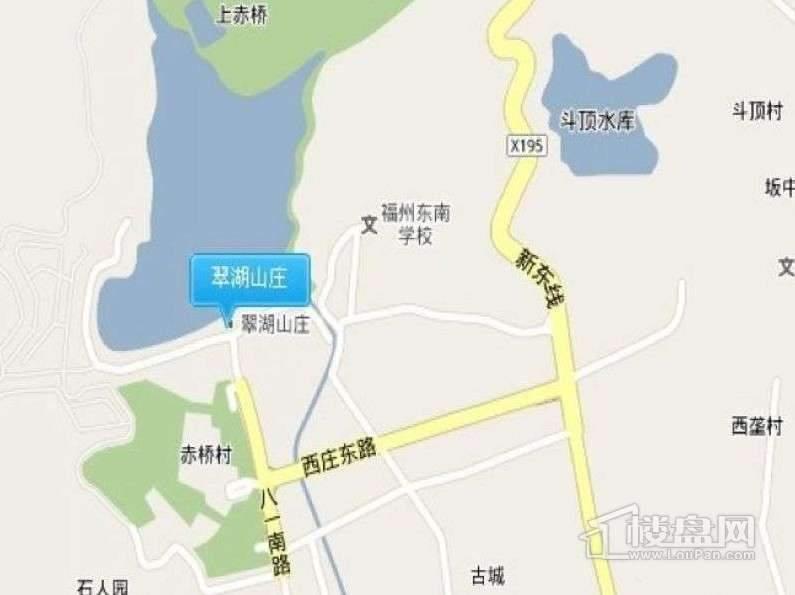 翠湖山庄交通图