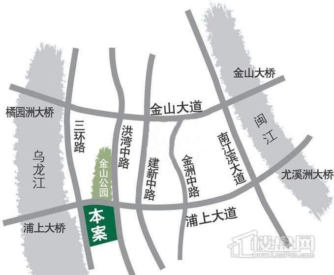 泰禾红树林交通图