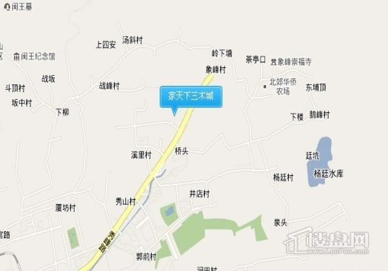 家天下三木城交通图
