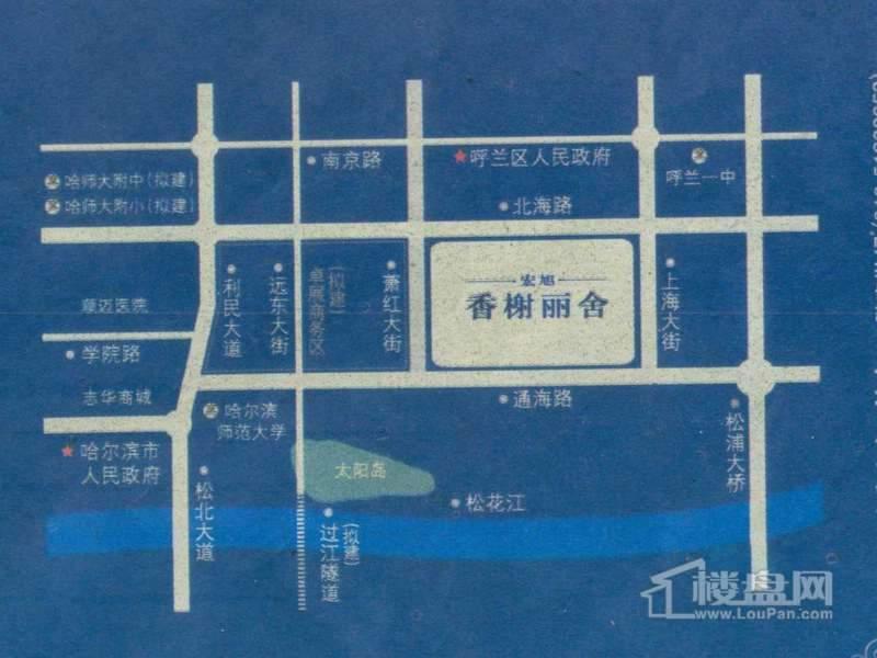香榭丽舍交通图