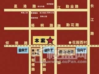 万泰商务广场交通图