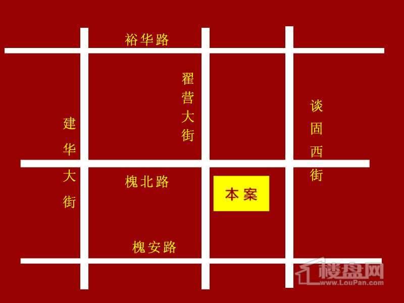 裕馨城二期交通图