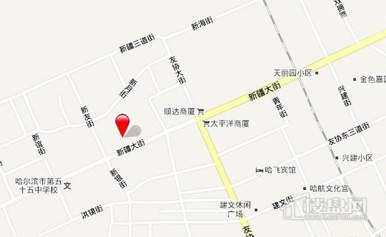 红旗MALL交通图