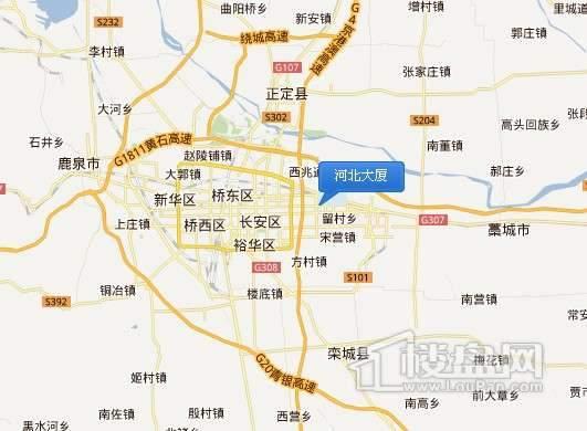 河北大厦交通图