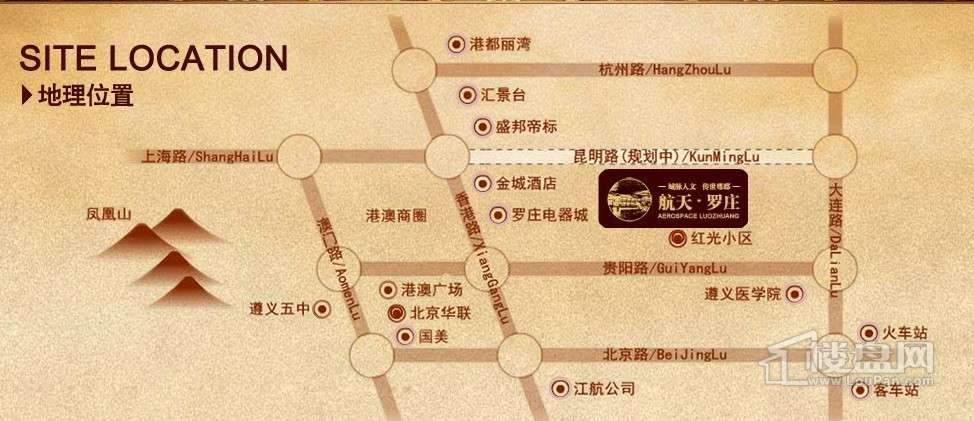 航天·罗庄交通图