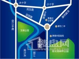福安国际广场交通图