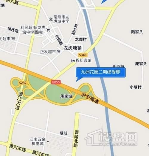 缇香郡交通图