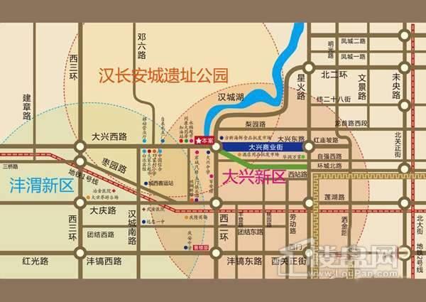 宏源国际公寓交通图