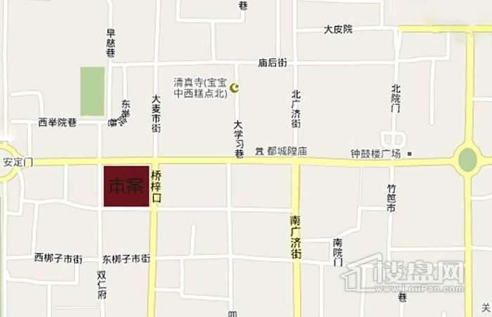 国际商会公寓交通图