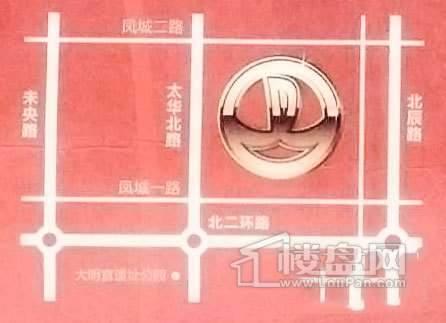西安大明宫万达广场商铺交通图