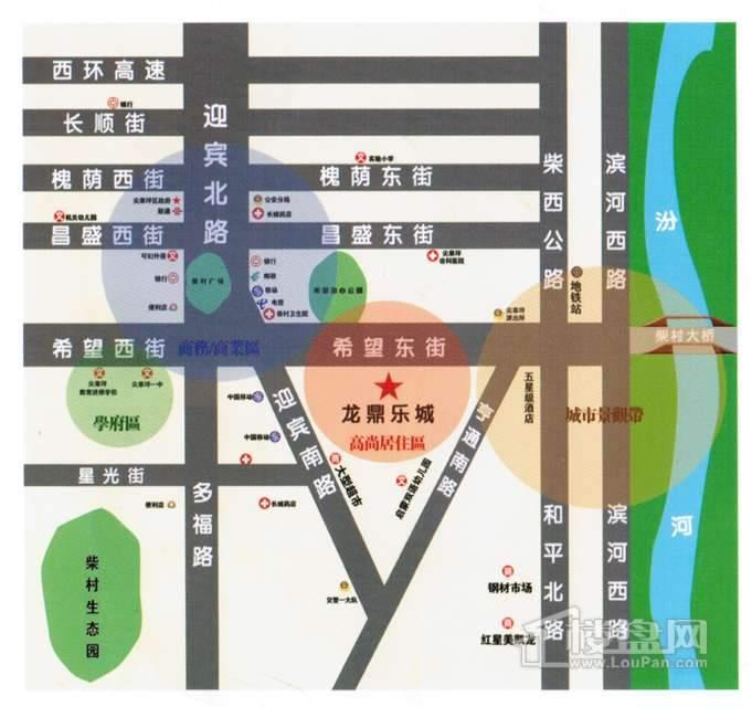 亚豪·龙鼎乐城交通图