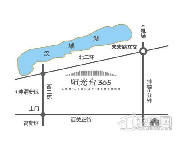 阳光台365交通图