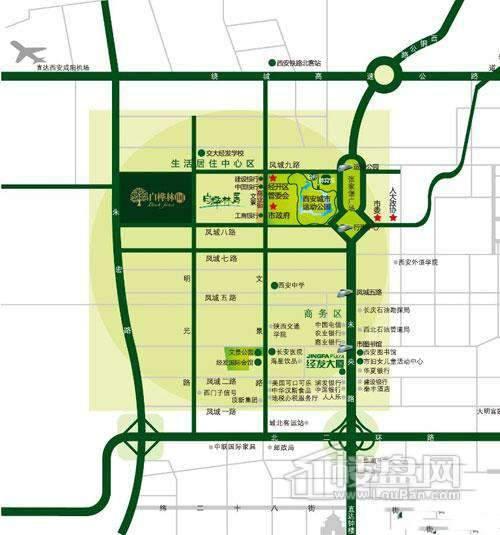 白桦林间交通图