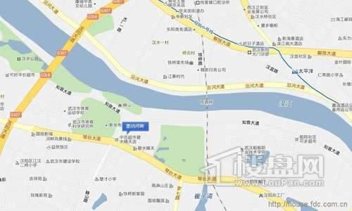 塞纳河畔交通图