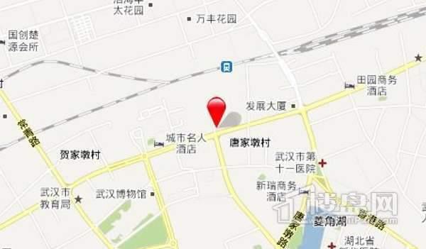 中央锦城交通图