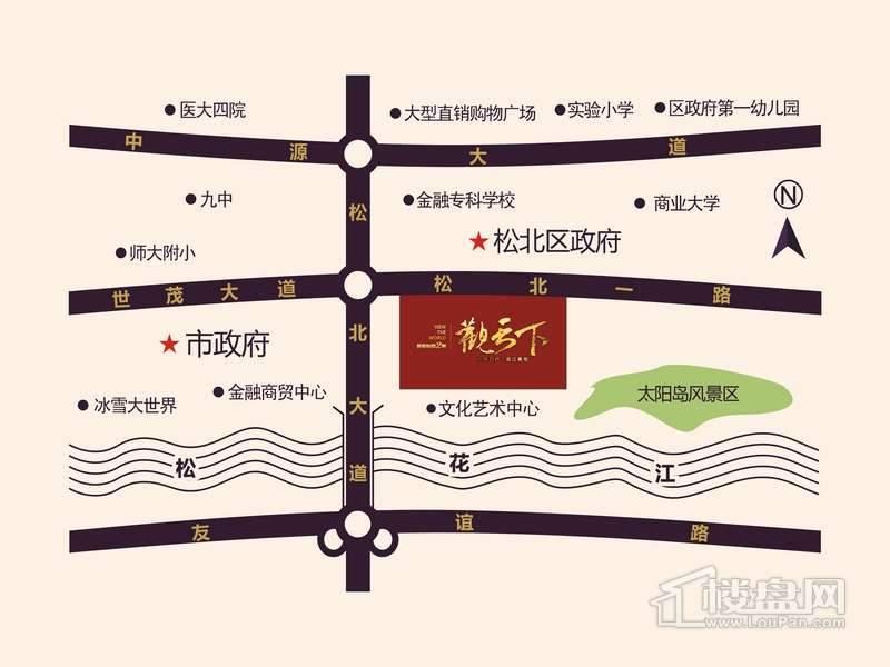 新新怡园2期交通图