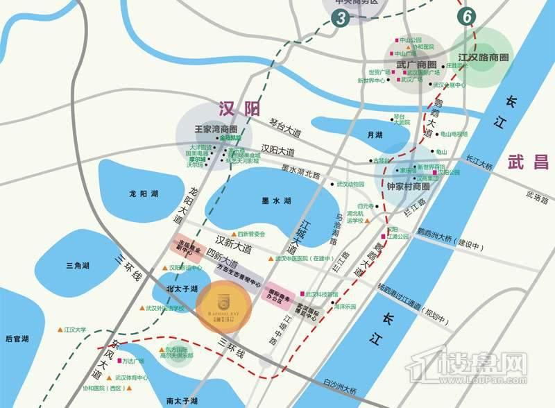 金地澜菲溪岸位置图