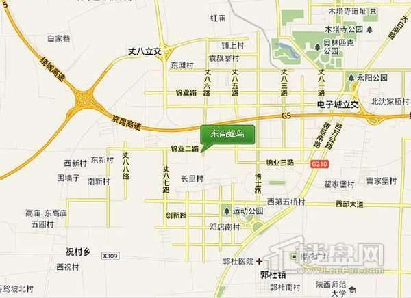 东尚蜂鸟交通图