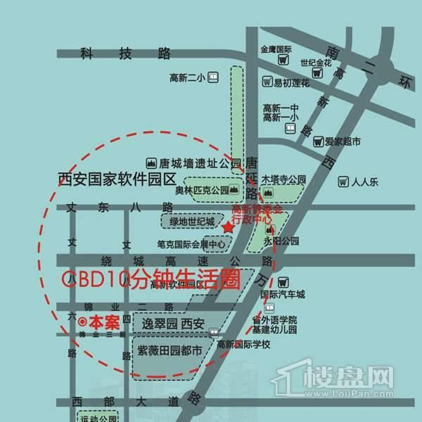 海棠别馆交通图