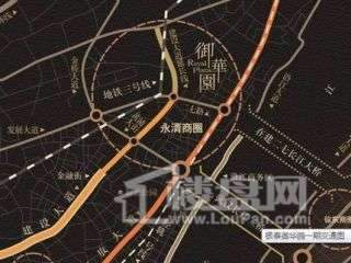 银泰御华园交通图