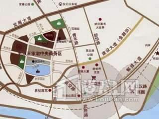 泛海国际居住区交通图