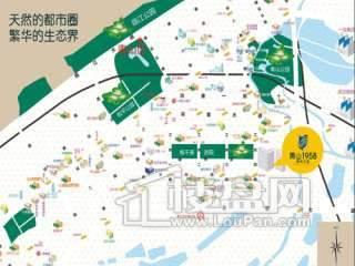 青山1958交通图