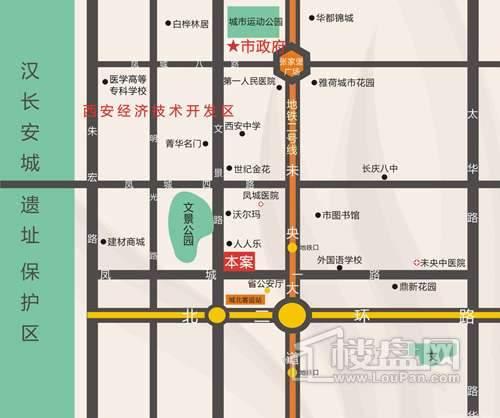 凤城一号交通图