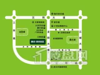 朗诗绿色街区交通图