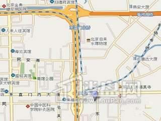东城逸墅交通图