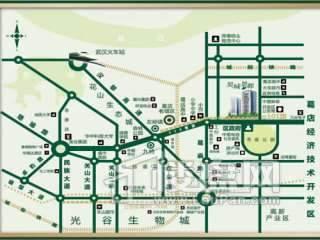 昊城景都交通图