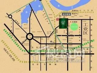光谷佳园二期交通图