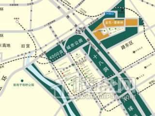 金融街·漫香林第6区交通图