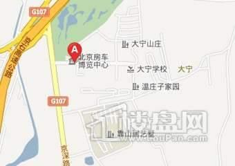 大宁湾(大宁山庄)交通图