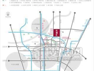 星光城交通图