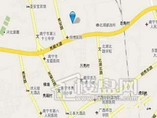 鑫利华花城交通图
