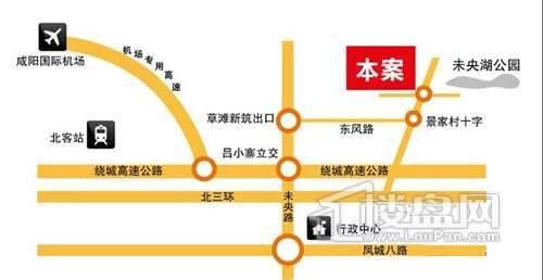华浮宫桂园交通图