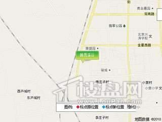 首邑溪园 交通图