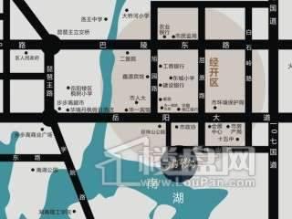 中航·翡翠湾 交通图
