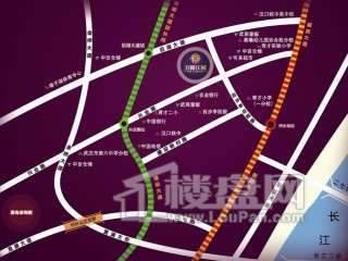 武汉万锦江城交通图