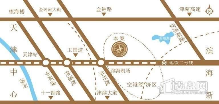 金泰丽湾位置图