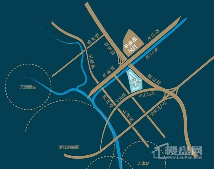 北宁湾位置图