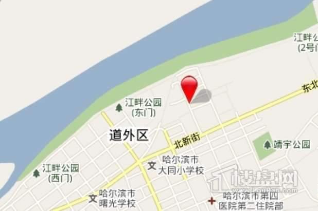 丽兹江畔交通图