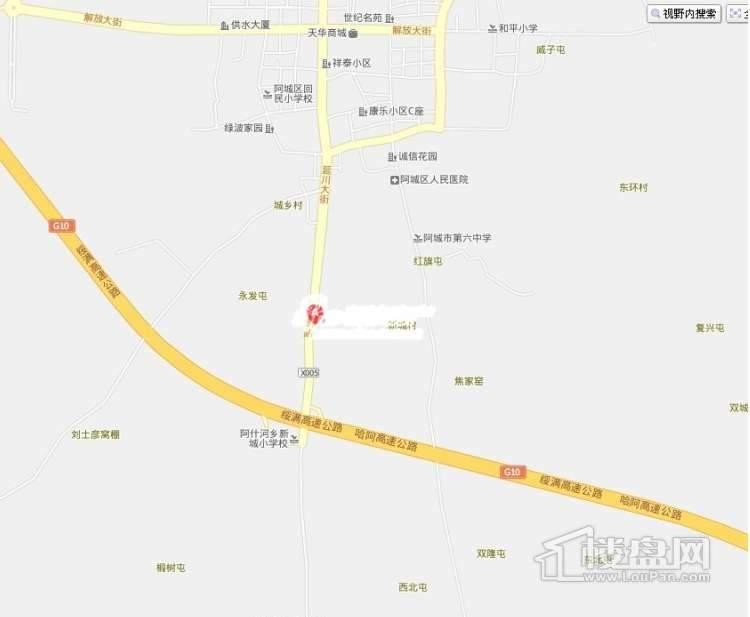 新龙城交通图