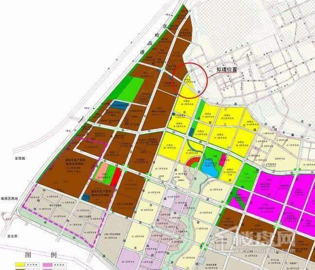 星耀南城交通图