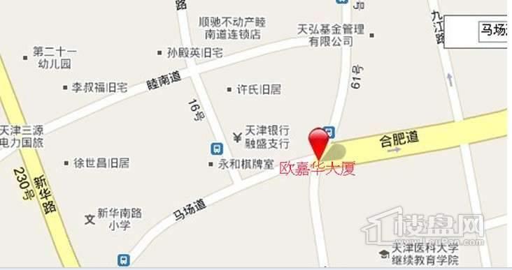 天津国际贸易中心位置图