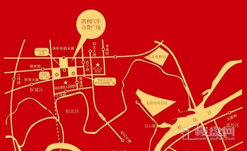 凯利广场交通图